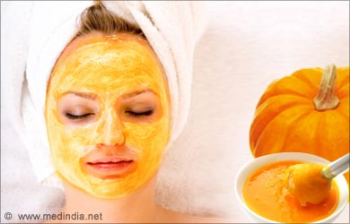 Dry Skin on the Face: Pumpkin Mask