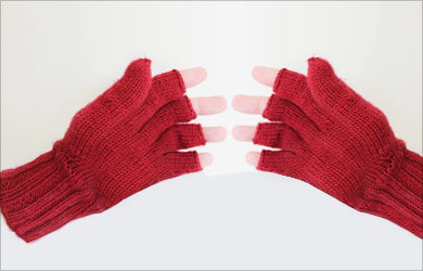 Rough Palms Beauty Tip: Gloves