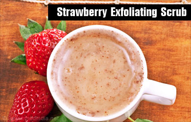 Strawberry Helps Lighten Complexion