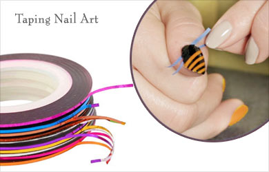 Taping on Nails