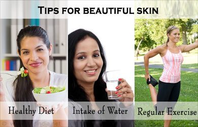 Tip for Beautiful Skin