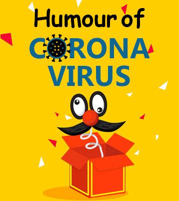 Corona humour widget