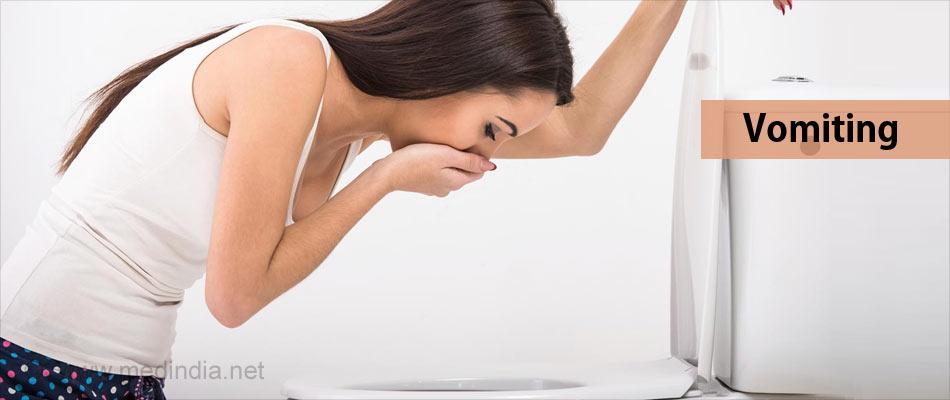 Symptoms of Snake Bites: Vomiting
