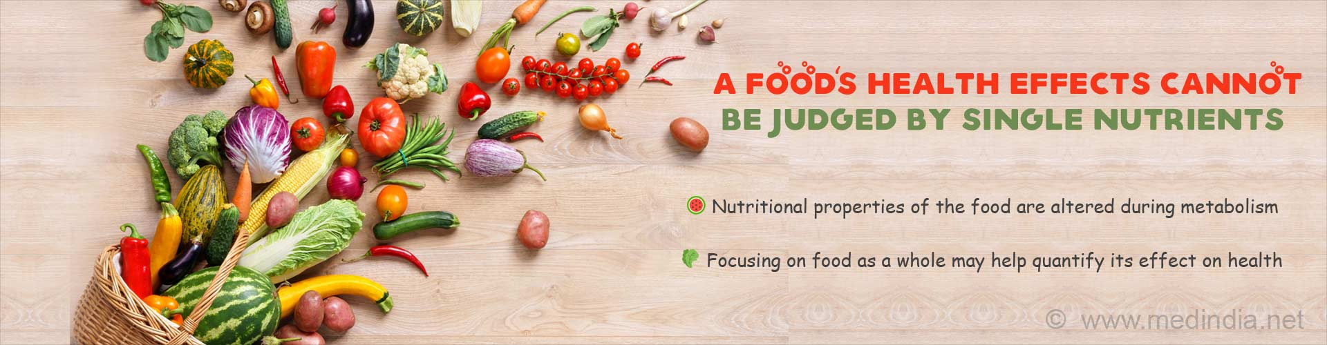 We Eat Food, Not Nutrients