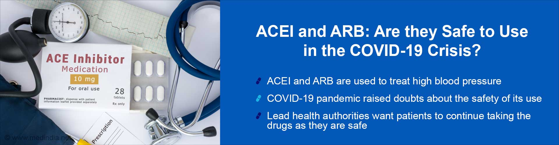 Should ACEI and ARB be Prescribed During the COVID-19 Pandemic?