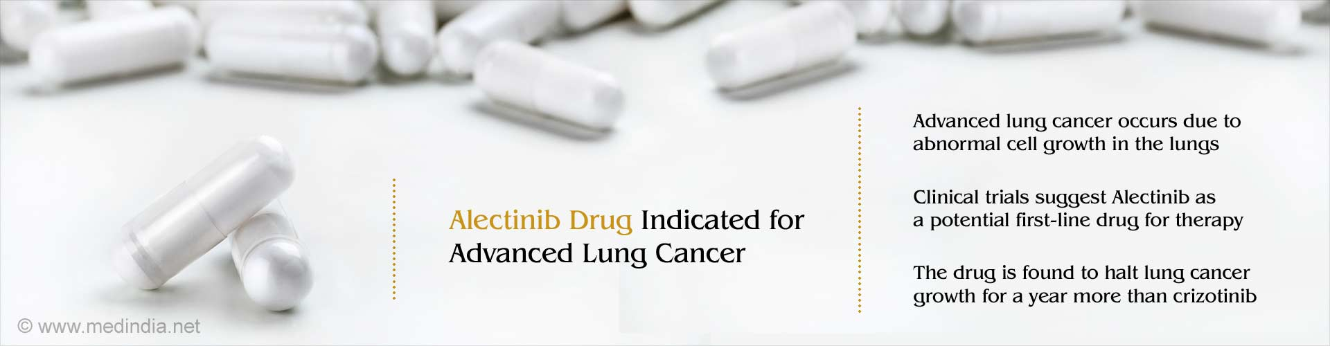 Alectinib Replaces Crizotinib Drug as Potential Therapy for Advanced Lung Cancer