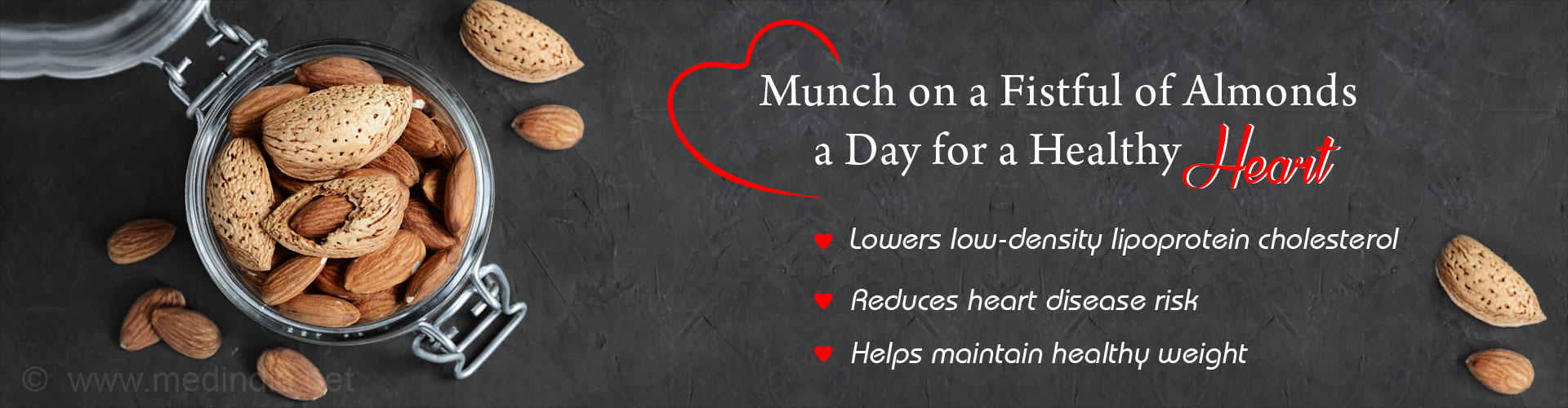 Munch on a Fistful of Alomnds a Day for a Healthy Heart