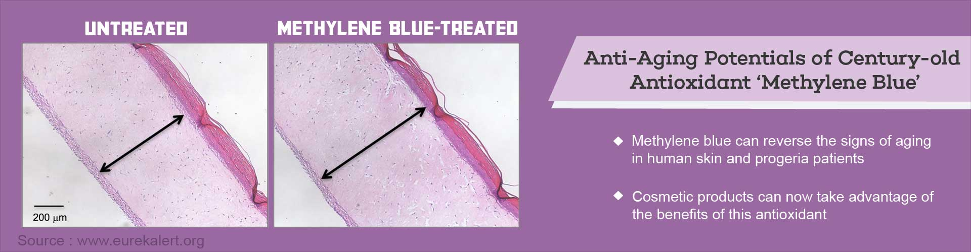 Now Antioxidant Methylene Blue can Give You Youthful Skin