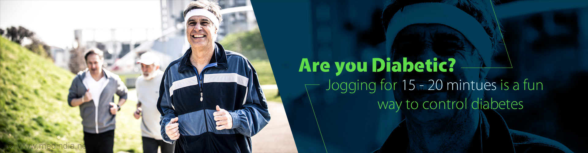 Are you Diabetic? Jogging for 15 minutes is a fun way to control diabetes.