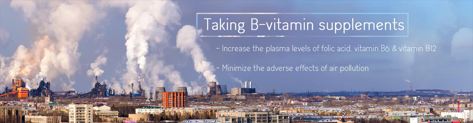 B Vitamin Supplements May Reduce Harmful Effects of Air Pollution