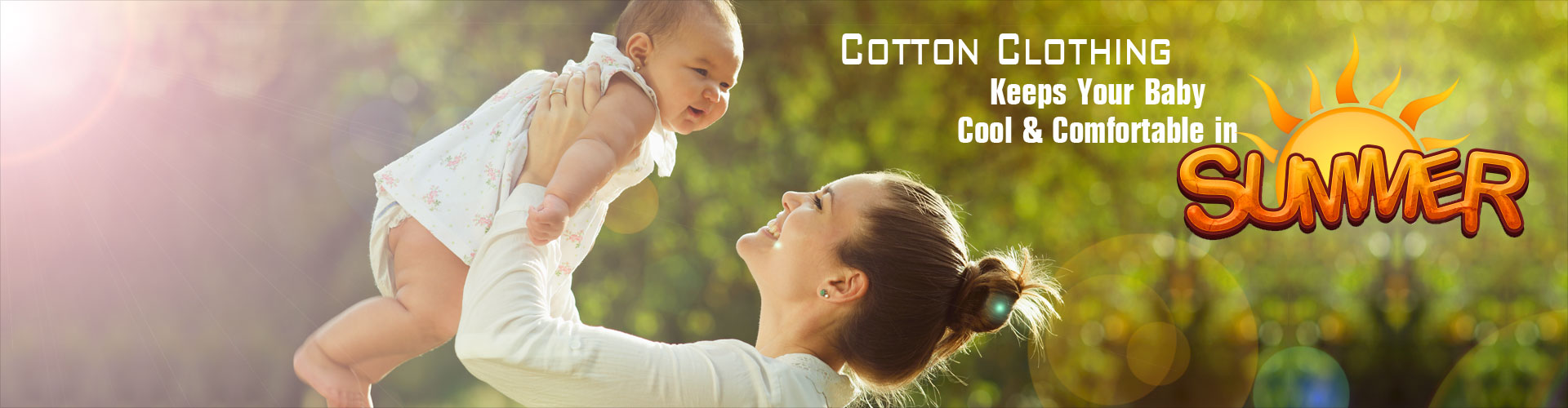 Cotton Clothing Keeps Your Baby Cool and Comfortable in Summer