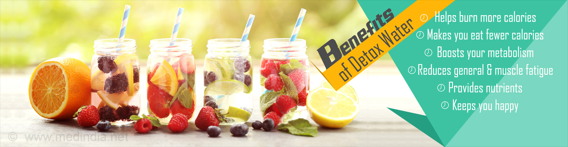 Top 10 Homemade Detox Water