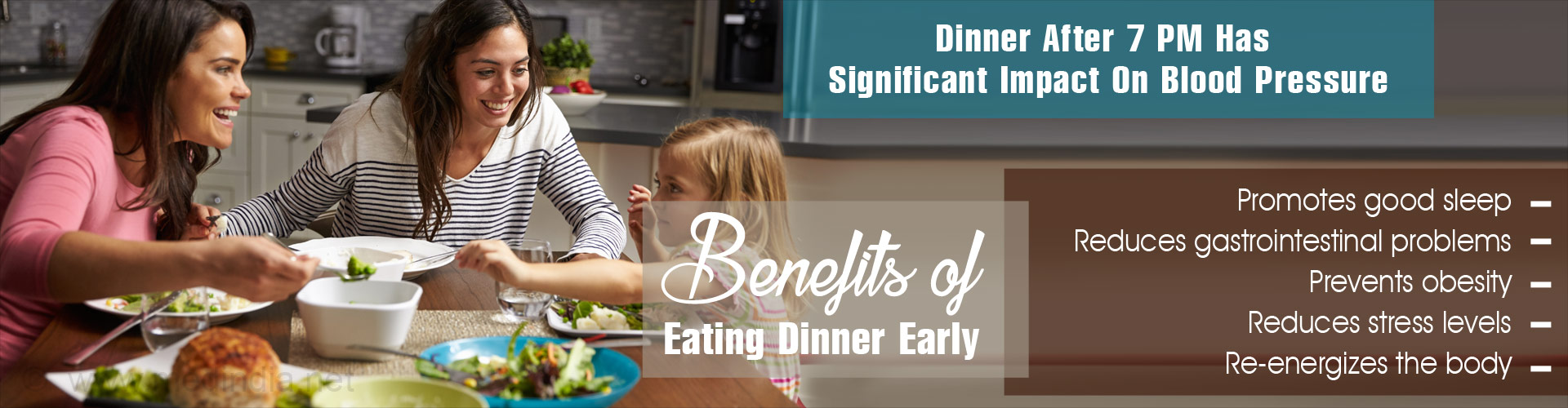 7 Benefits of an Early Dinner