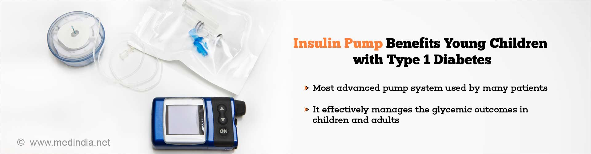Benefits of Insulin Pump in Children With Type 1 Diabetes