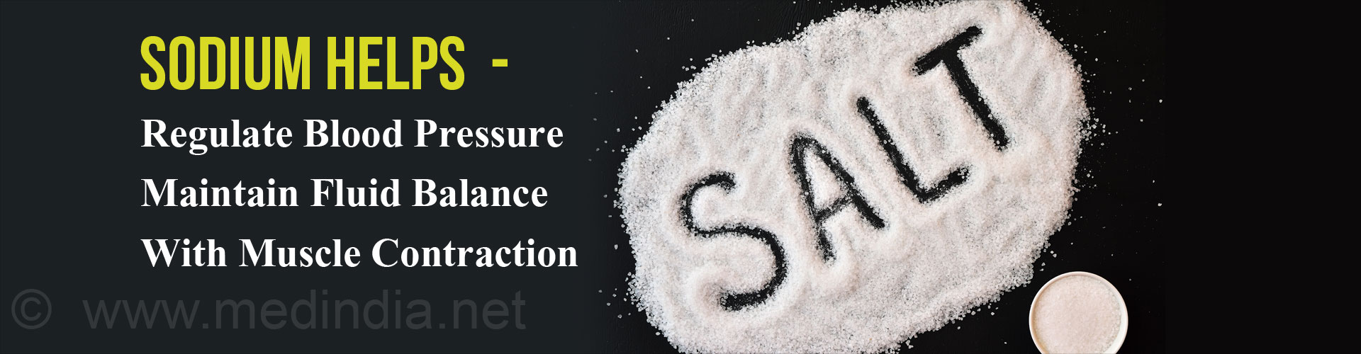 Sodium Helps