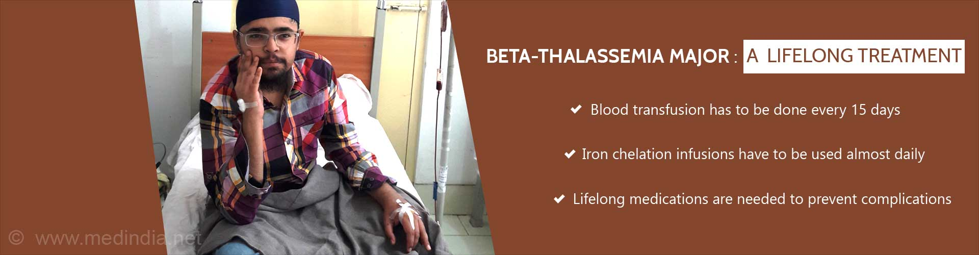 BETA-THALASSEMIA MAJOR: A Lifelong Treatment