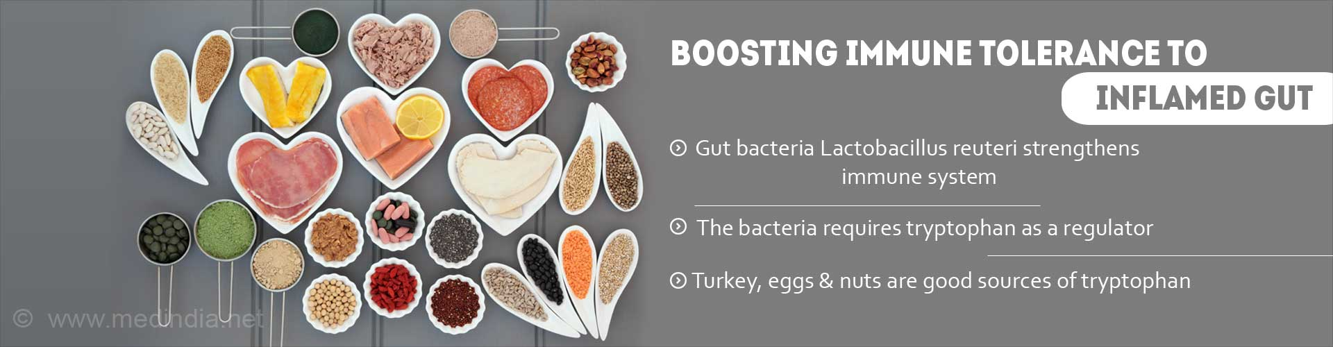 Protein In Turkey, Nuts Makes Immune Cells Tolerant To Inflamed Gut