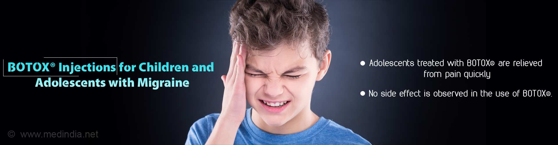 BOTOX injections for children and adolescents with migraine