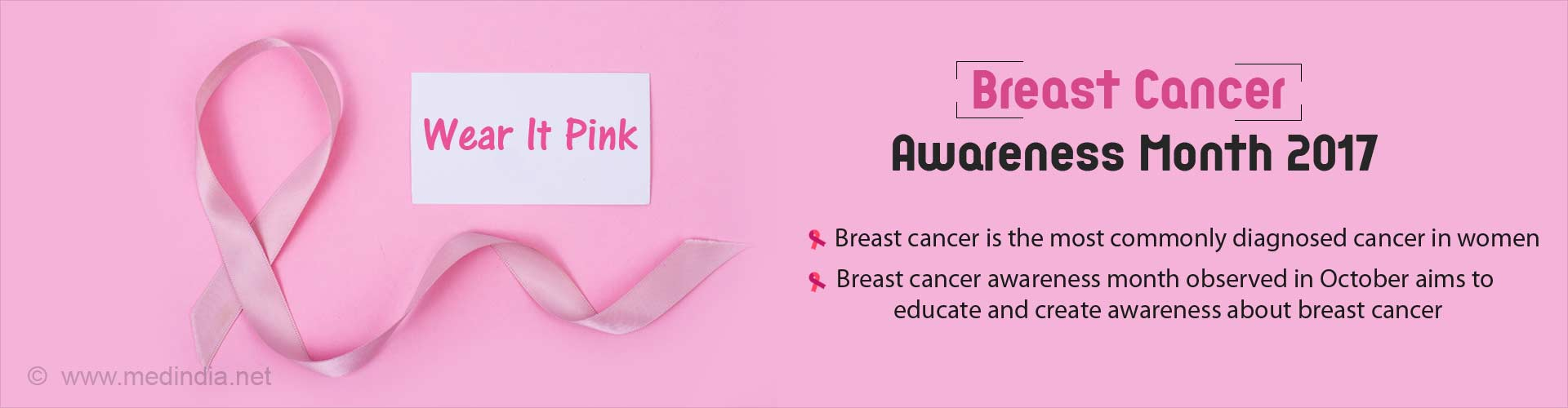 Breast Cancer Awareness Month - Early Detection And Treatment Can Save Lives