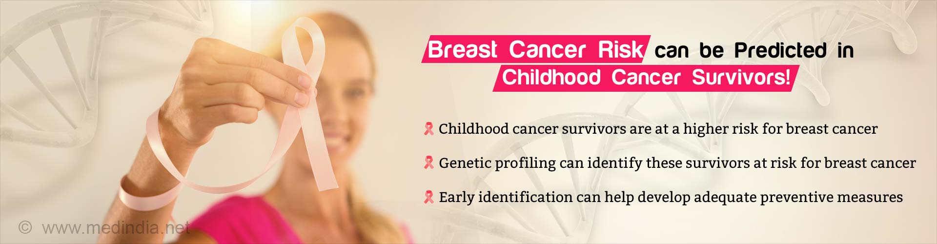 Genetic Profiling Predicts Breast Cancer Risk in Childhood Cancer Survivors