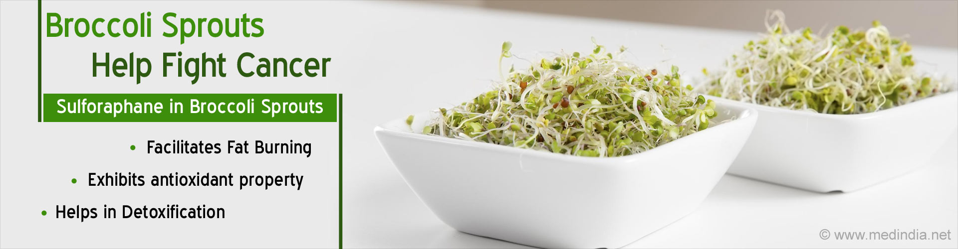 Broccoli Sprouts Help Fight Cancer