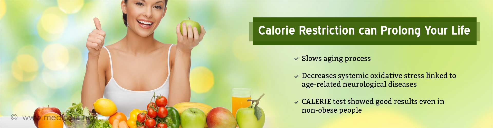 Calorie Restriction can Prevent Age-related Diseases