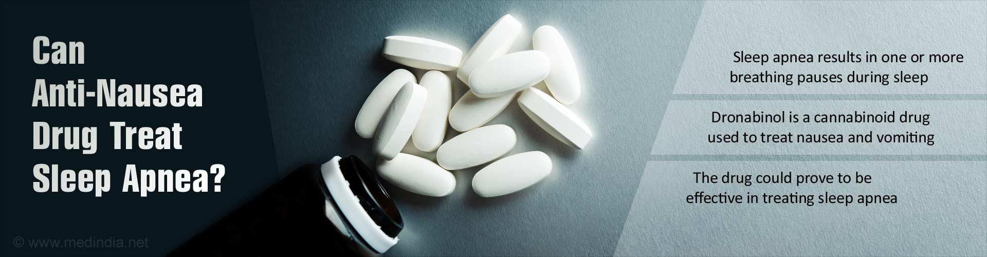 Dronabinol: Anti-Nausea Drug to Treat Sleep Apnea