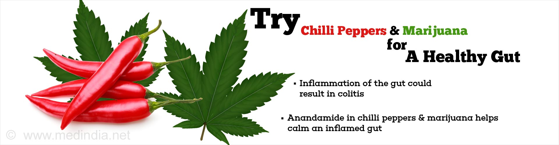 Try Chilli Peppers & Marijuana for A Healthy Gut
