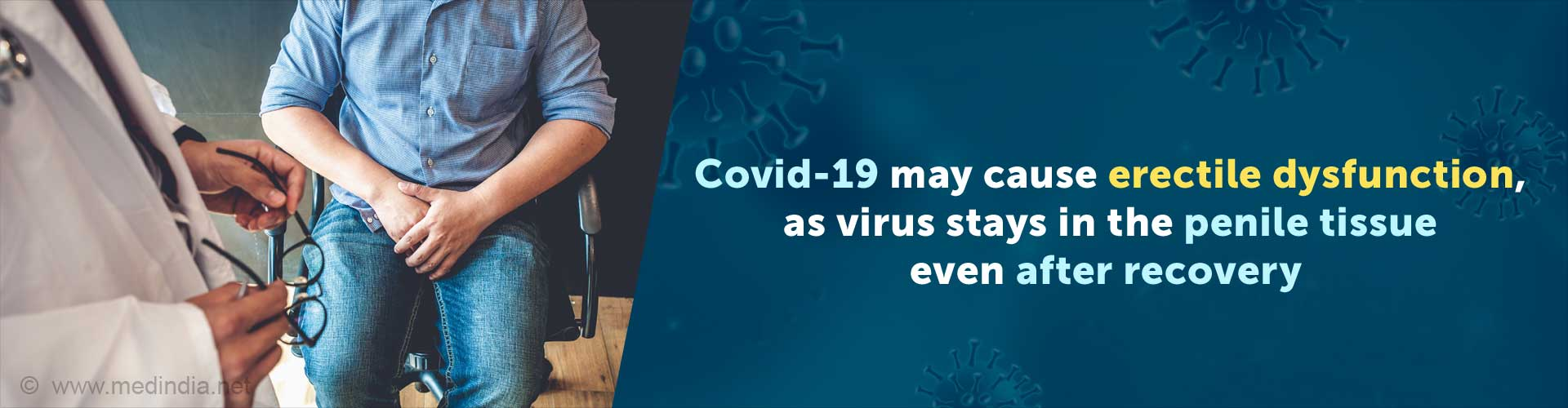 Covid-19 May Cause Erectile Dysfunction Even After Recovery