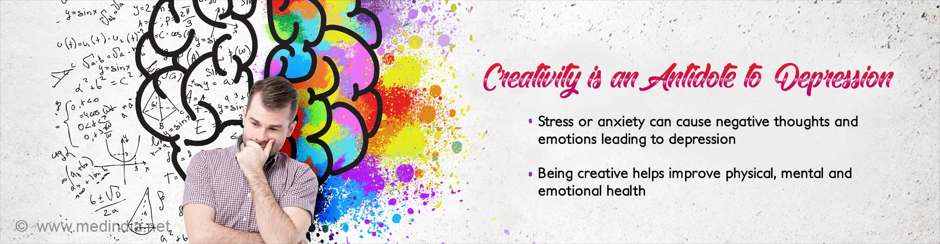 creativity is an antidote to depression