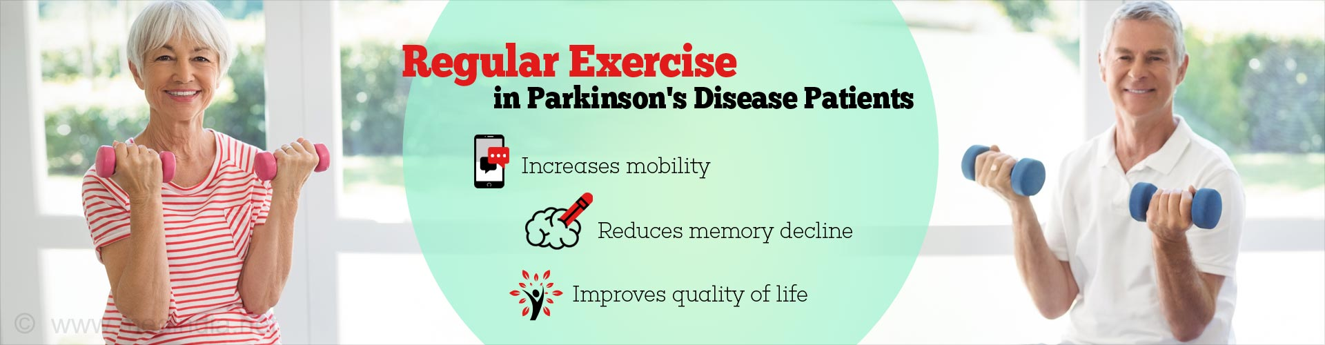 Daily Work Out Improves Quality of Life in Parkinson''s Disease Patients