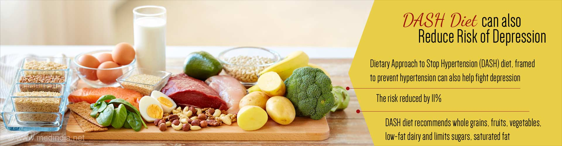 DASH Diet Can Reduce Risk of Depression