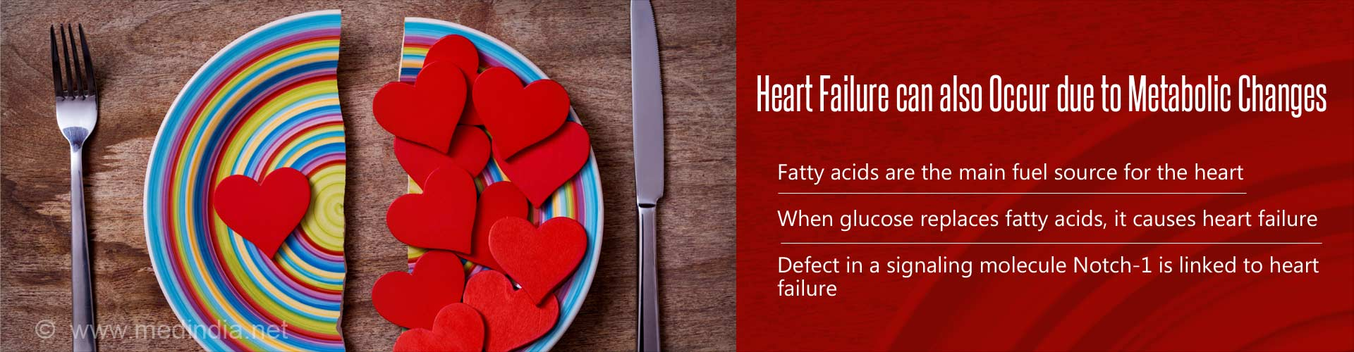 heart failure can also occur due to metabolic changes