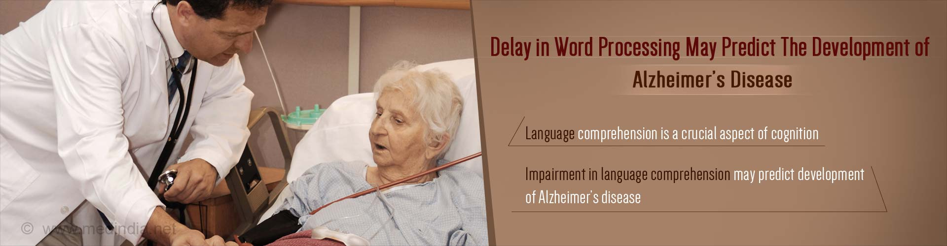 Delayed Word Processing Predicts Development of Alzheimer