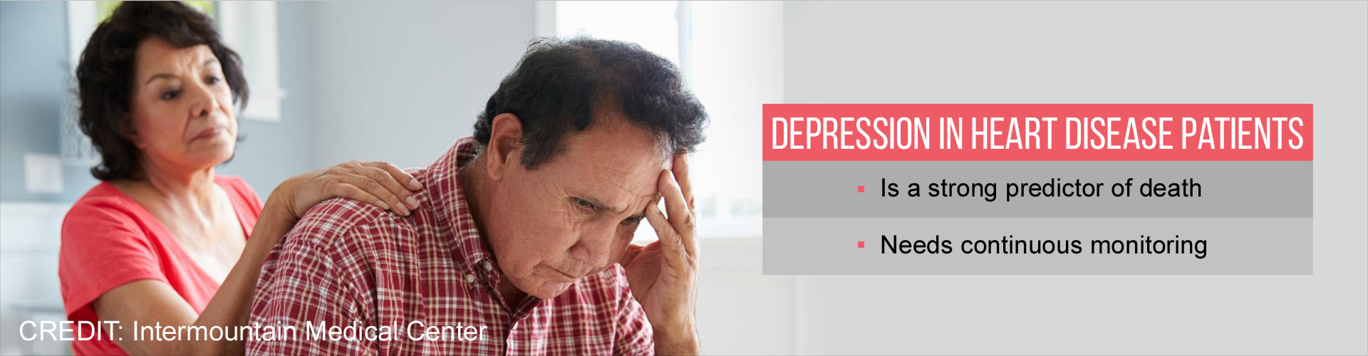 Depression After Heart Disease Diagnosis Increases Risk of Death