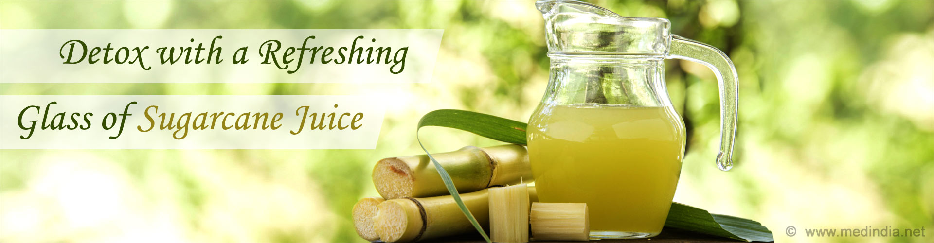 Detox with a Refreshing Glass of Sugarcane Juice