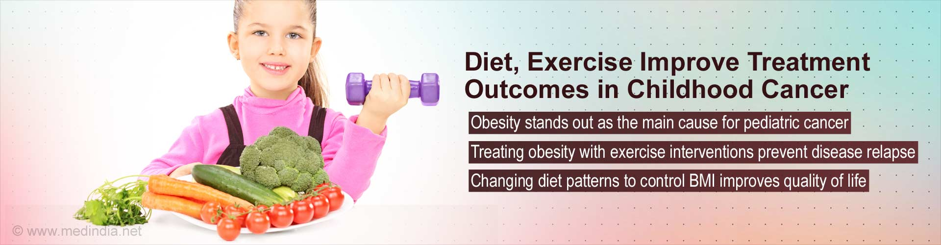 Diet, exercise improve treatment outcomes in childhood cancer