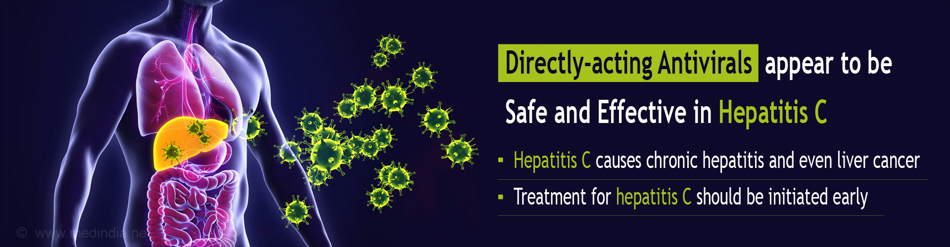 Directly-acting Antivirals Appear Safe and Effective in Treating Hepatitis C