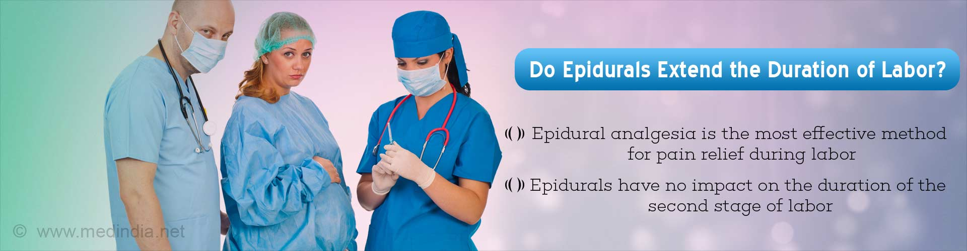 Epidurals Do Not Slow Childbirth