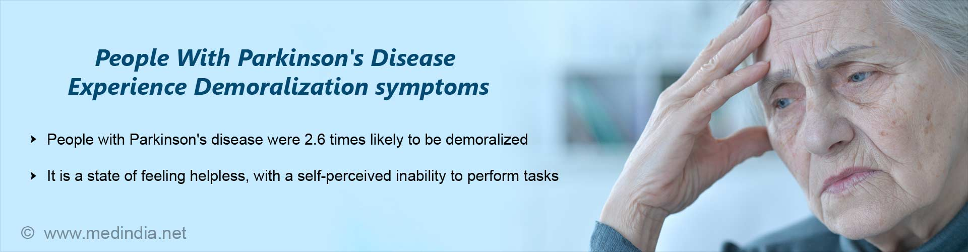 Do People With Parkinson''s Disease Experience Symptoms of Demoralization?