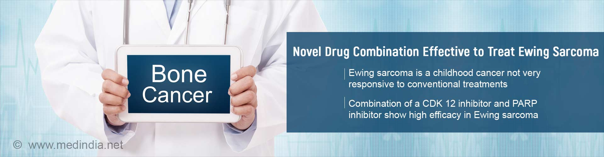 novel drug combination to treat ewing sarcoma