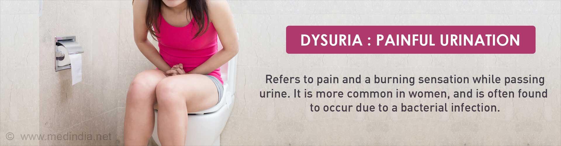 Dysuria  Symptom Evaluation