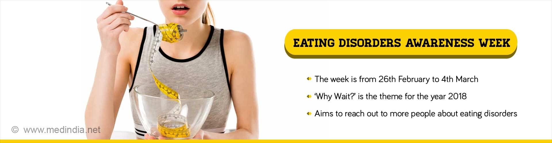 Eating Disorders Awareness Week 2018: Why Wait?