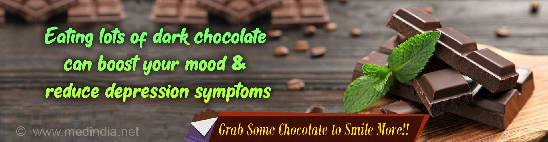 Dark Chocolate can Ward Off Depression Symptoms