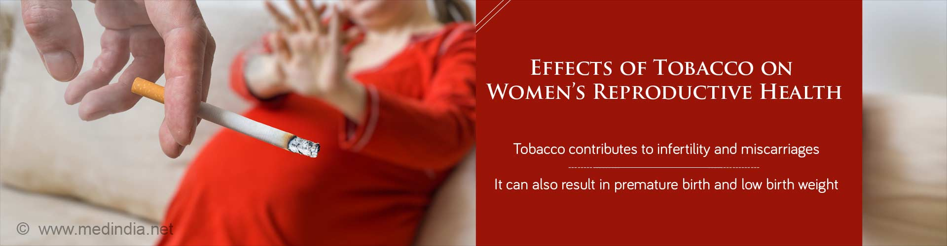 Effects of Tobacco on Womens Reproductive Health: Hear It From a Renowned Gynaecologist