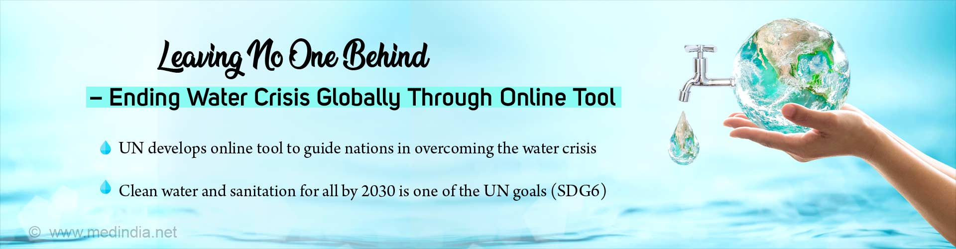 Clean Water and Sanitation For All By 2030