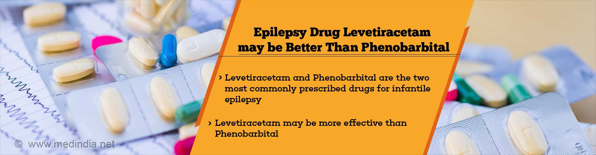 Epilepsy Drug Levetiracetam may be Better Than Phenobarbital