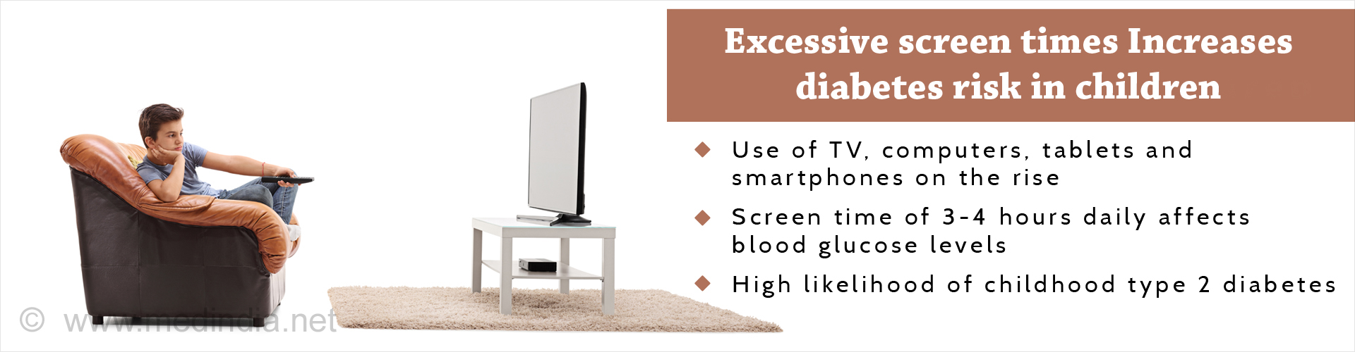 Excessive Screen Time Raises Diabetes Risk Among Children