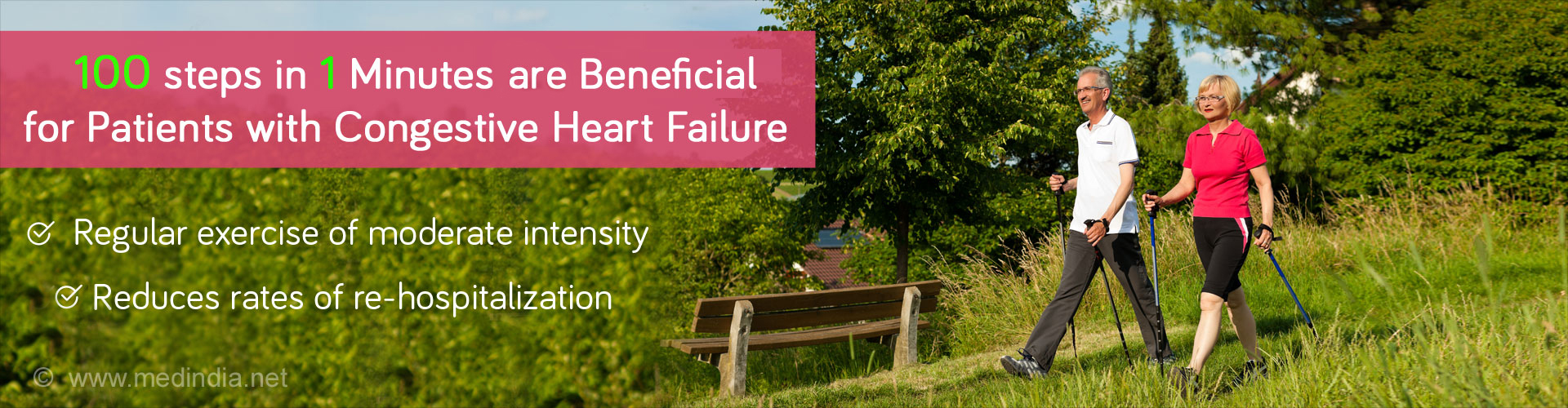 100 Steps in 1 Minute is Beneficial for Patients With Heart Failure