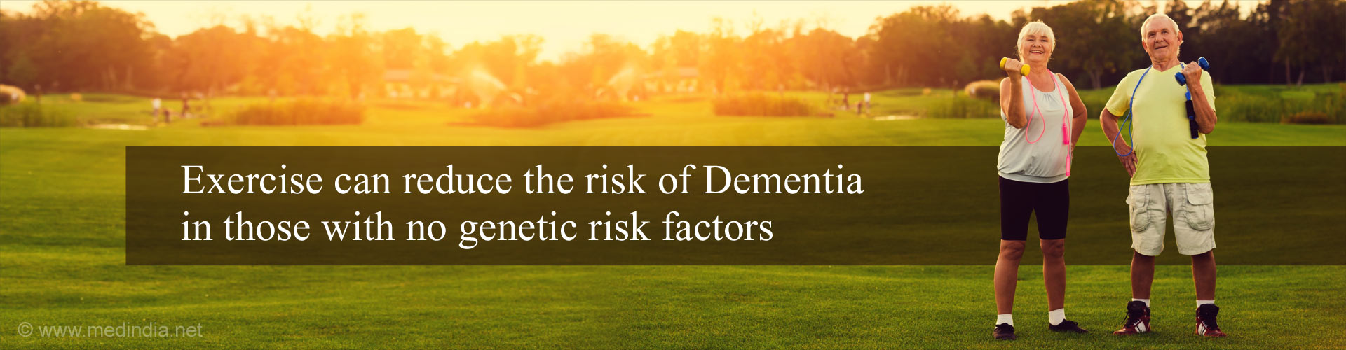 Physical Inactivity Increases Risk of Dementia as Those With Genetic Risk Factors